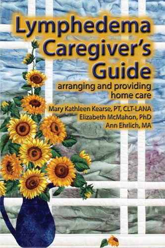 [ Lymphedema Caregiver's Guide front cover ]